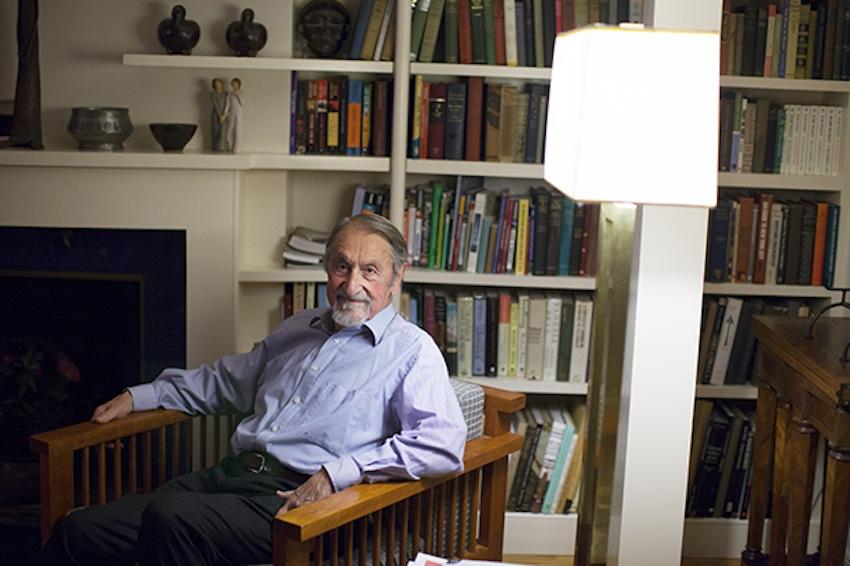 Martin Karplus Nobel Prize Winner Photo By Stephanie Mitchell/Harvard Staff Photographer