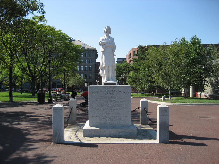 christopher columbus park