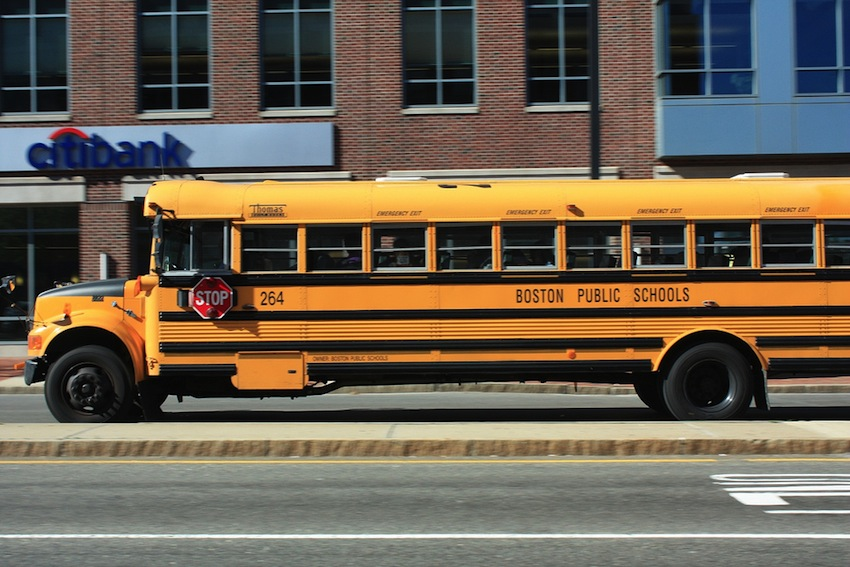 Boston School Bus Photo Uploaded By Exil-Armine on Flickr