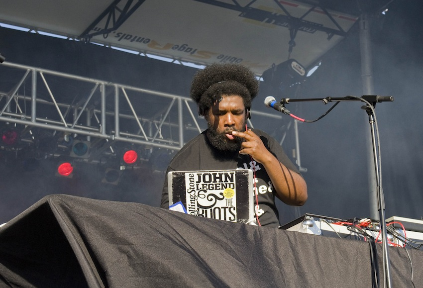 Questlove Photo Uploaded by TheMontage on Flickr