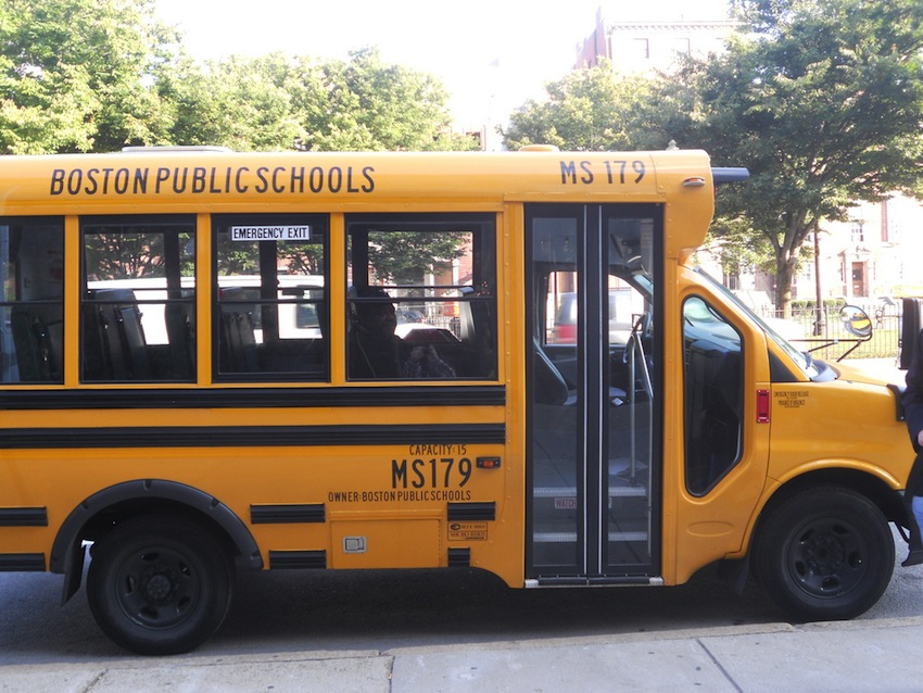 School Bus Photo Uploaded By  morgane.rb on Flickr