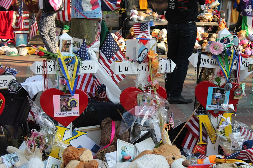Boston marathon memorial Photo Uploaded by  TTNHDProductions on Flickr