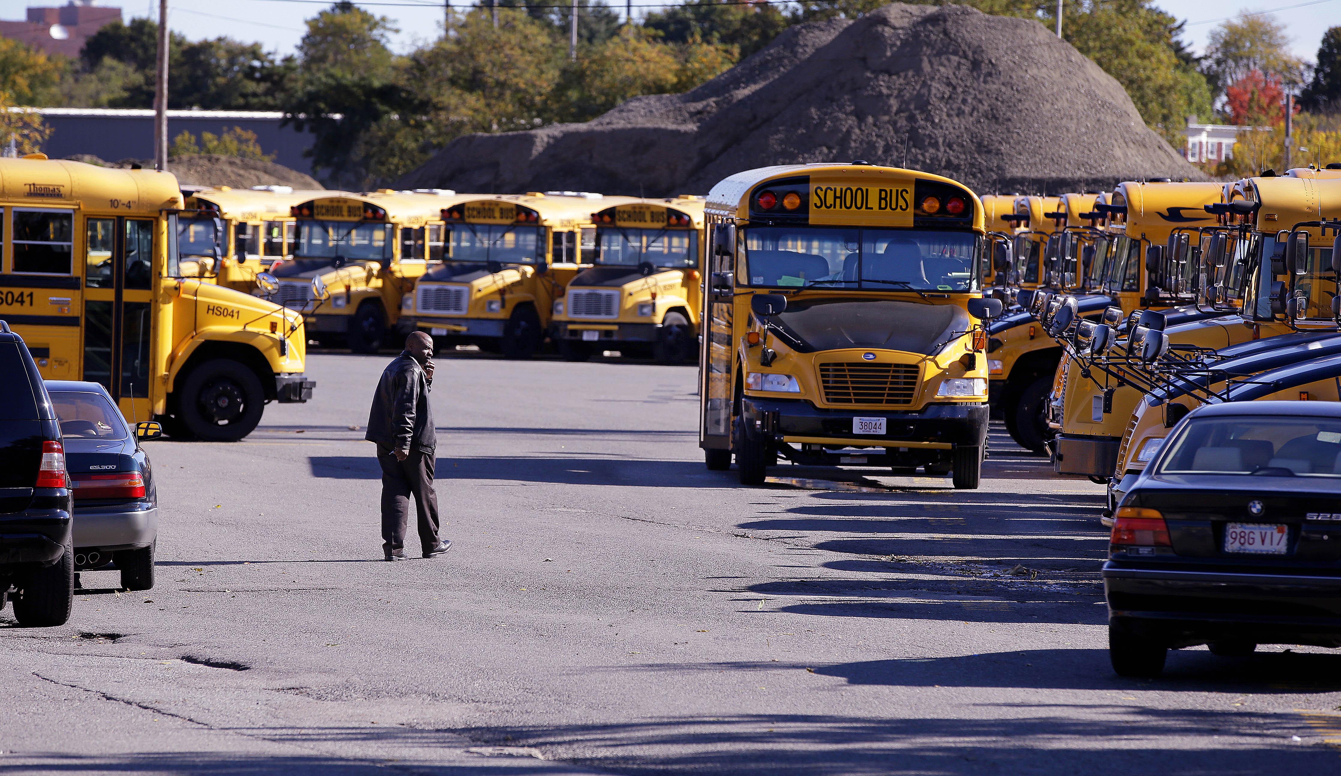 boston bus strike