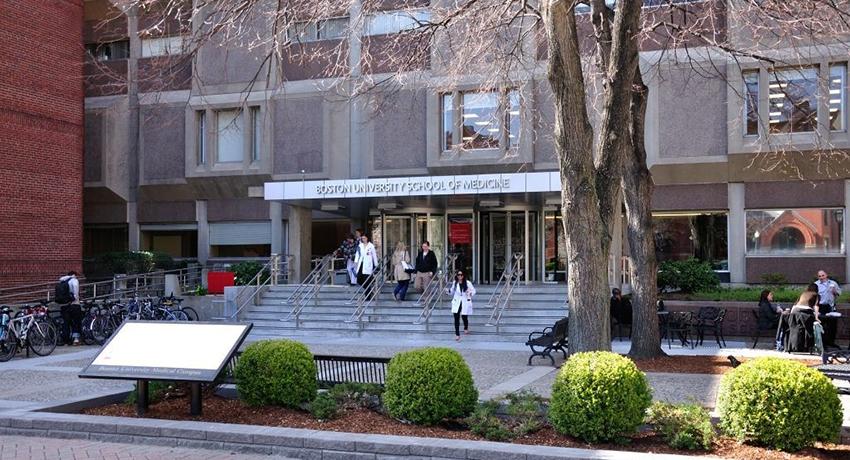 Boston University School of Medicine image provided.
