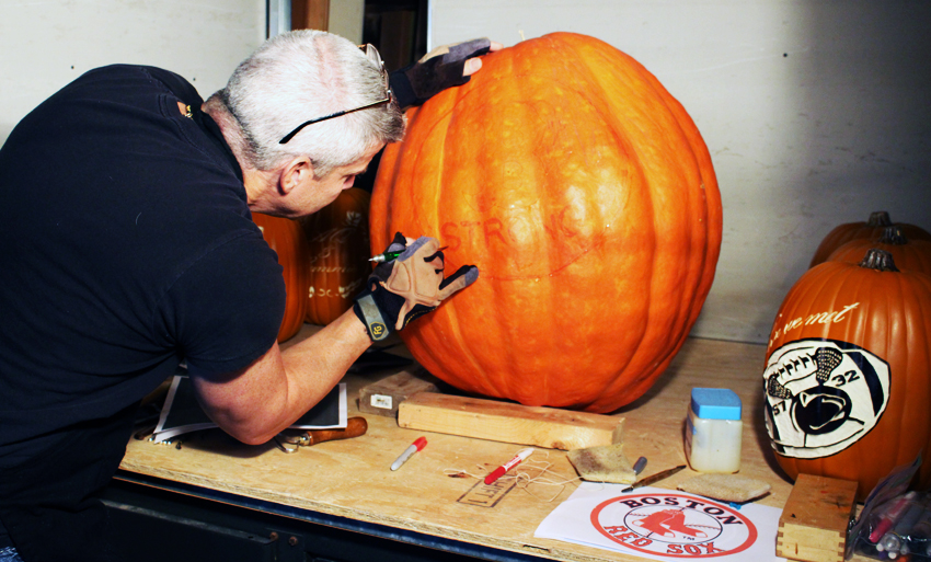 Sean Fitzpatrick Boston Strong Pumpkin Carving Halloween