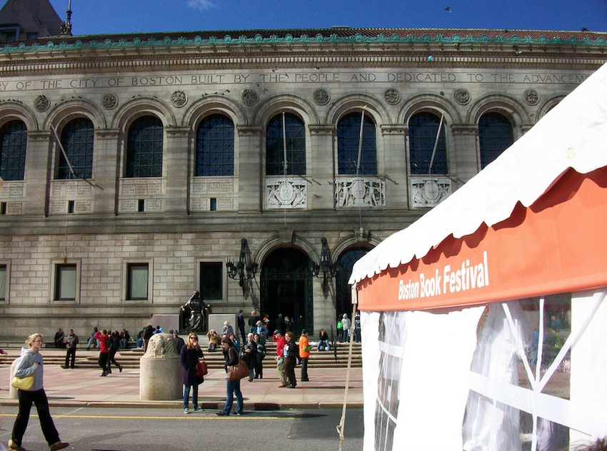Boston Book Festival Photo Uploaded By MillCityHack on Flickr