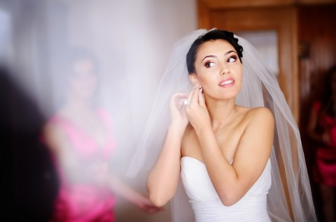 Beautiful bride is getting married photo via Shutterstock.