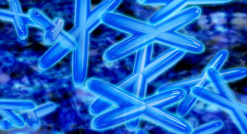 chromosome image via shutterstock