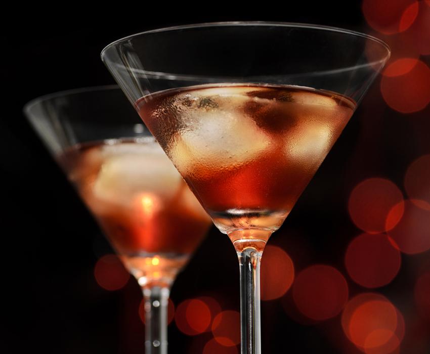 Cocktail image via shutterstock