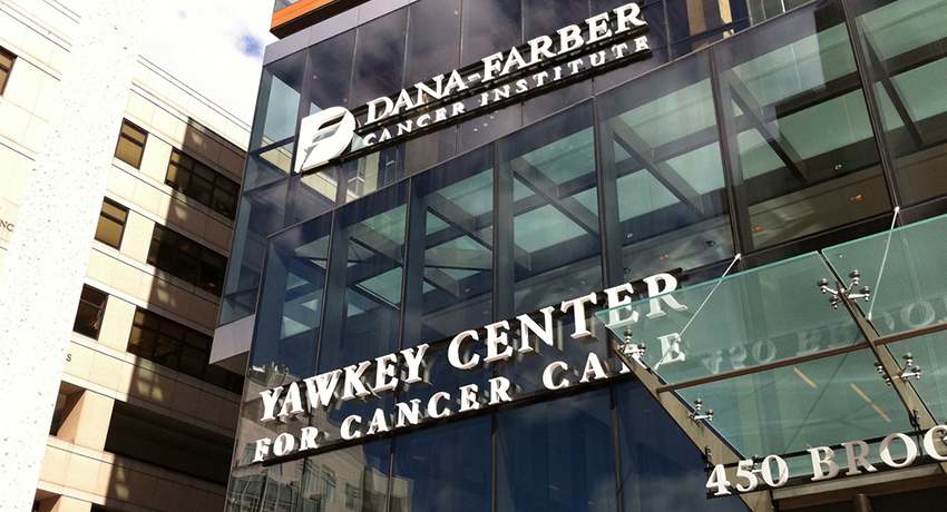 Dana-Farber exterior. Image provided.