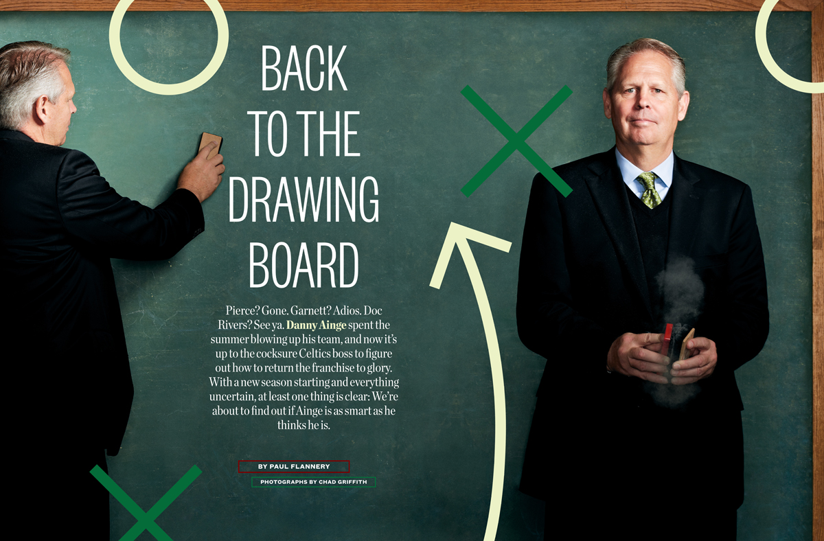 Back to the Drawing Board Danny Ainge s Plan for the Boston Celtics