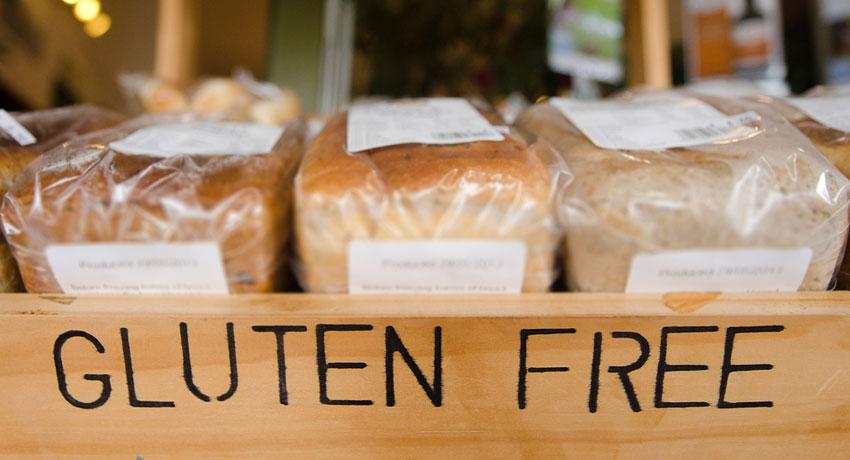 Gluten free bread image via shutter stock