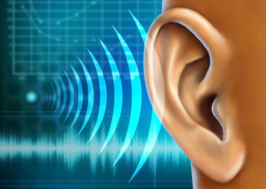 Hearing image via shutterstock