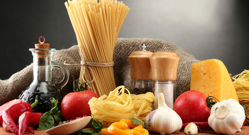Italian ingredients image via shutterstock