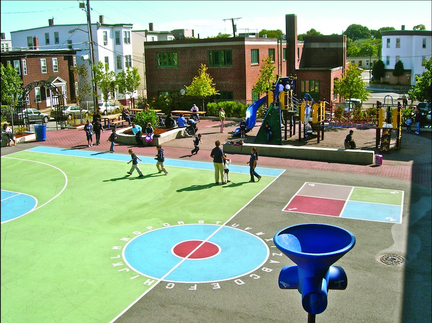 Before And After Boston S Public School Playgrounds