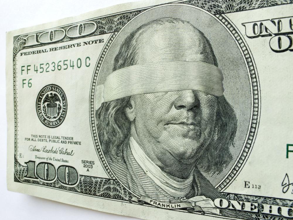 Money image via Shutterstock