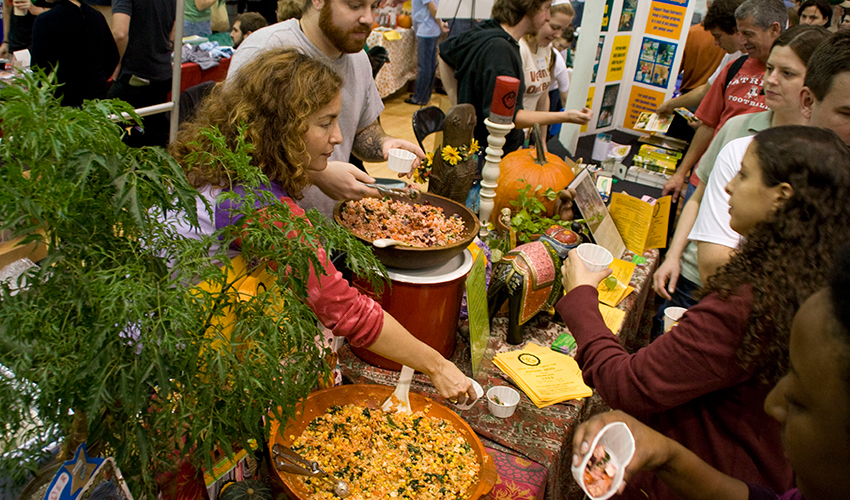 Photo from the 2012 Vegetarian Food Festival Provided