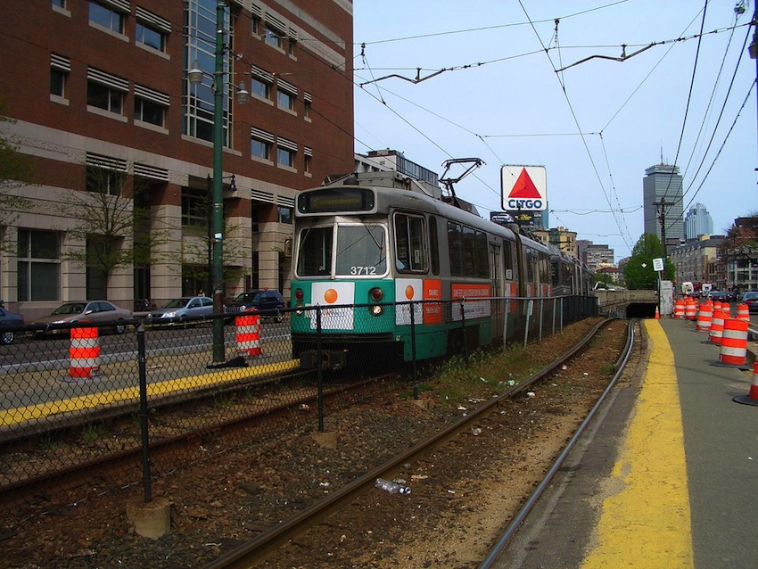 MBTA Green Line Photo Uploaded by Jasonik on Flickr