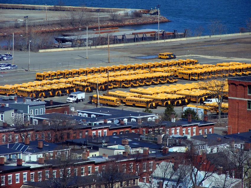 Boston School Bus photo Uploaded by Allie_Caulfield on Flickr