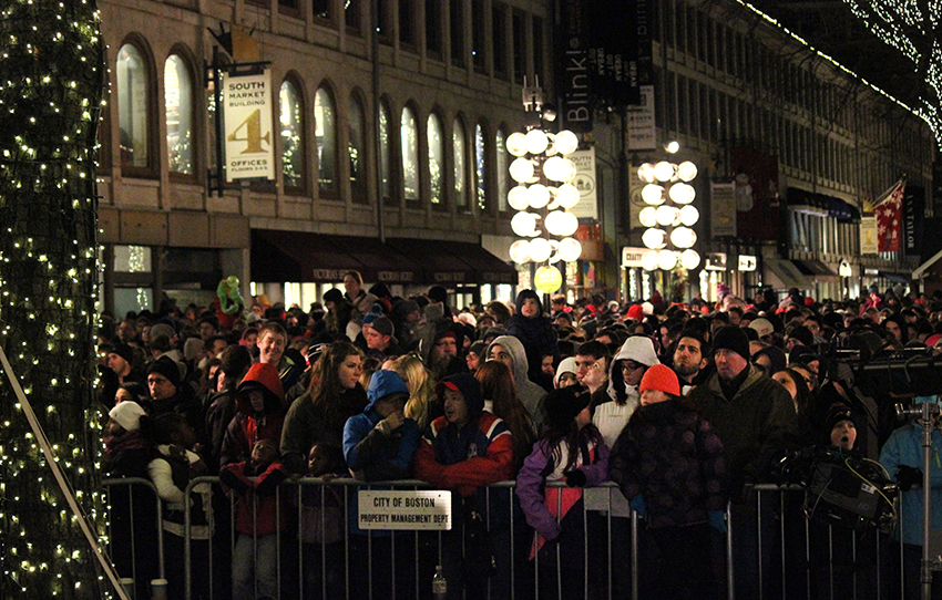 faneuil hall blink tree lighting