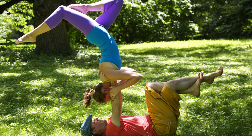 AcroYoga image provided by Pat Donaher