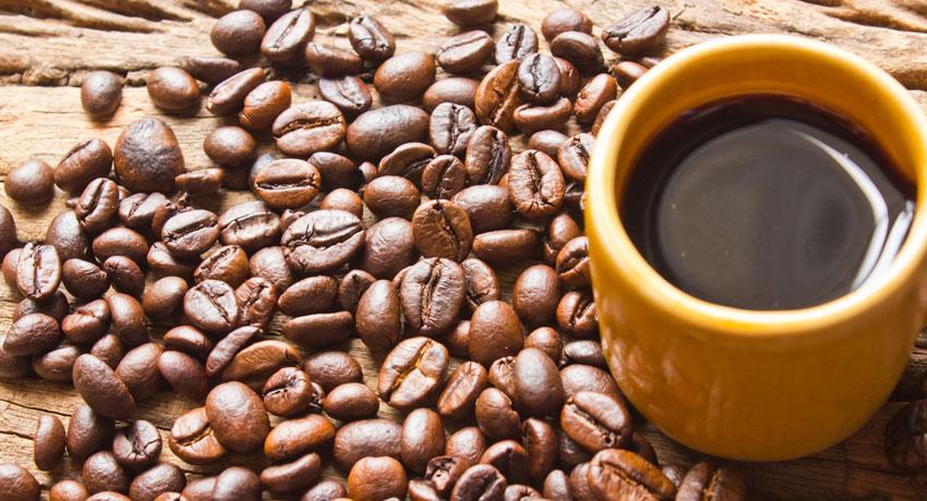 Coffee image via shutter stock