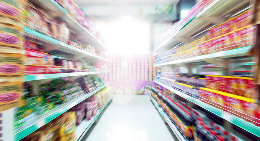 Convenience store image via shutterstock