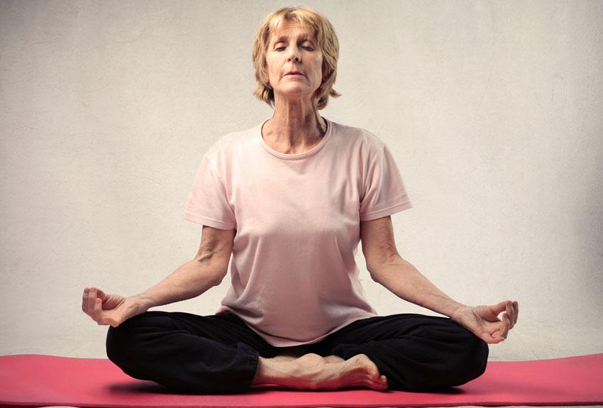 Meditation image via shutterstock