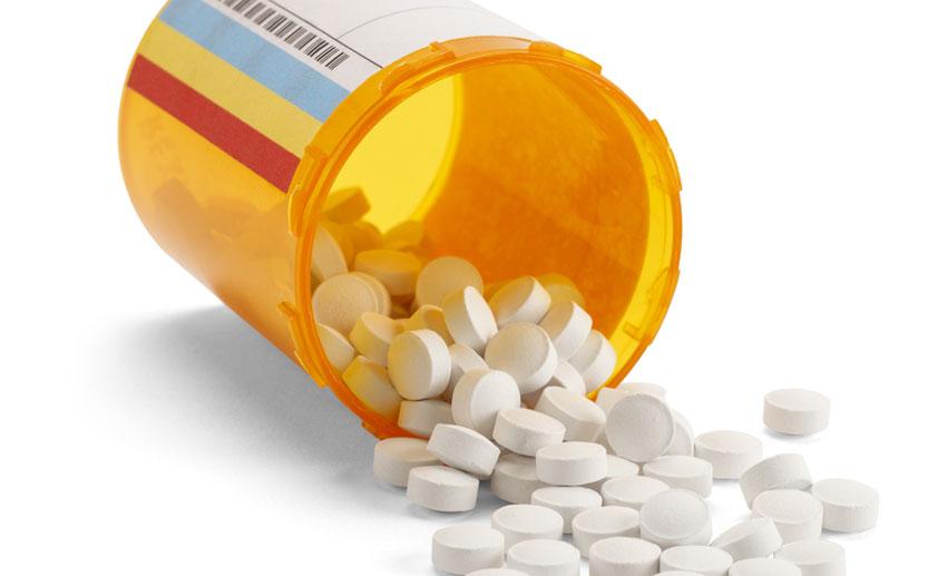 Pill bottle image via shutterstock