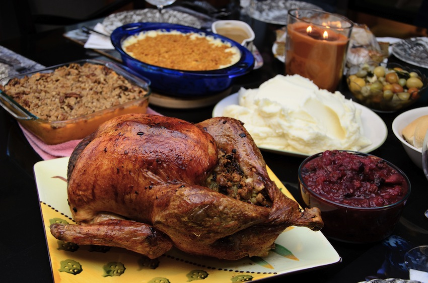 Thanksgiving Photo via Shutterstock.com