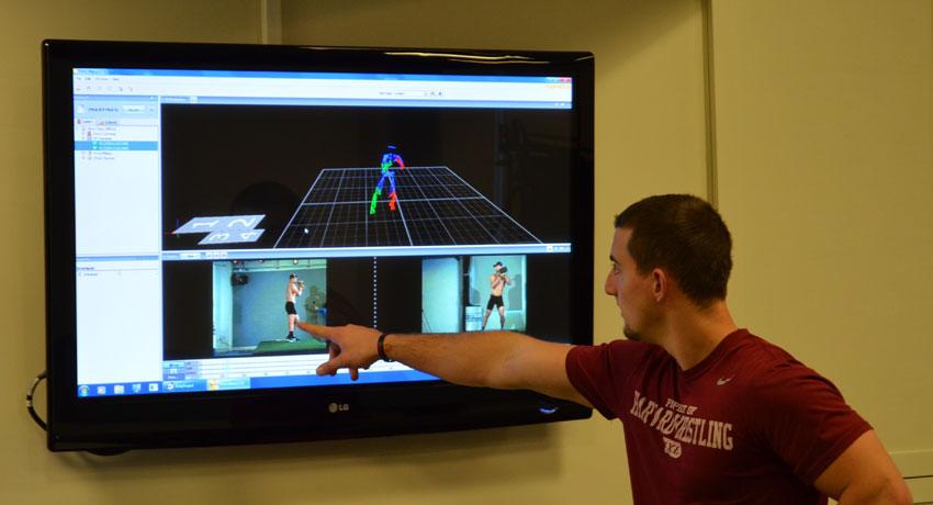 Massachusetts General Hospital Sports Performance Center images provided