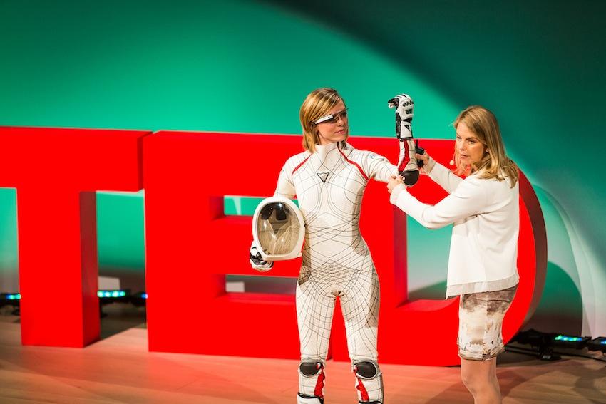 Photo via TED Women/Dava Newman