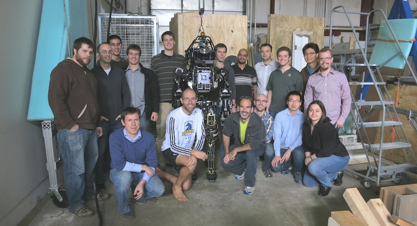 Photo Courtesy of the MIT Robotics DARPA Challenge Team