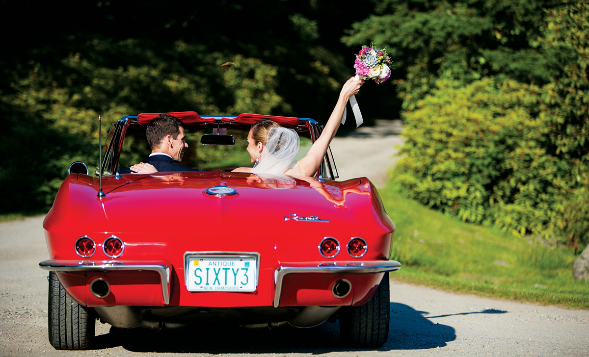 just married vehicle idea vintage car