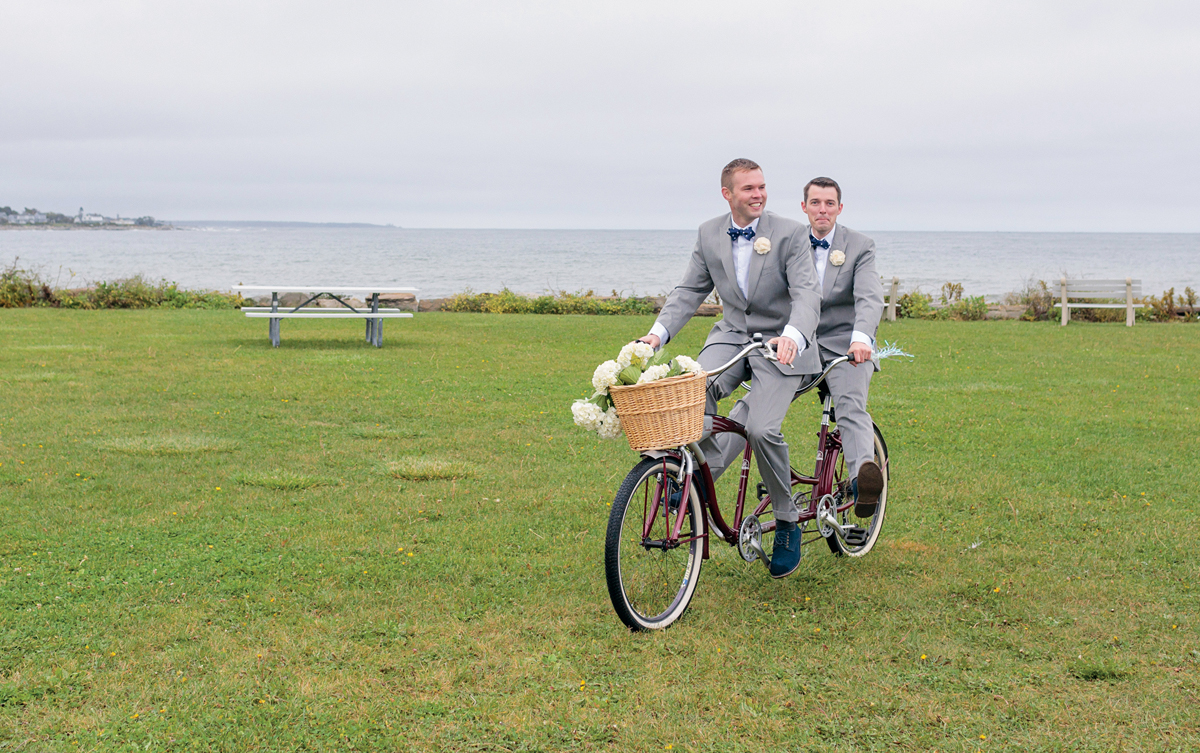 just married vehicle idea bike