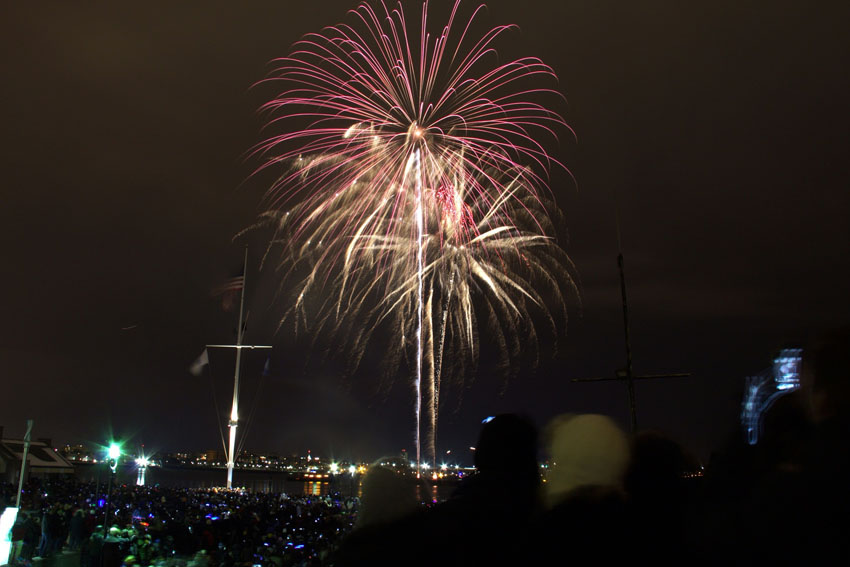 Boston Harbour Fireworks
