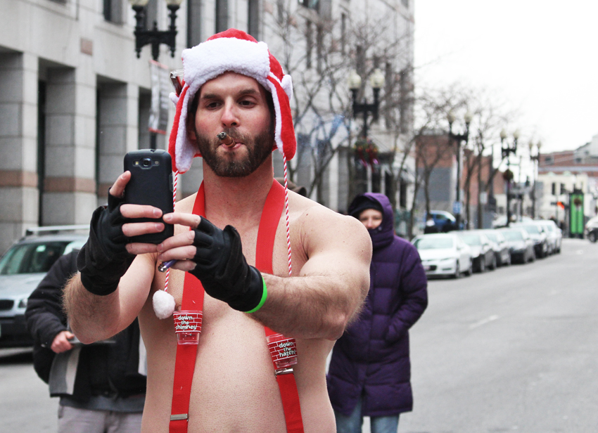 santa speedo run boston 2013