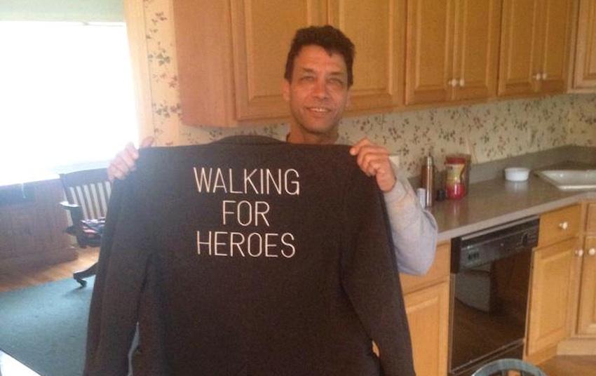 Walking For Heroes Photo via Facebook
