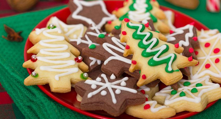 Christmas cookies image via shutterstock