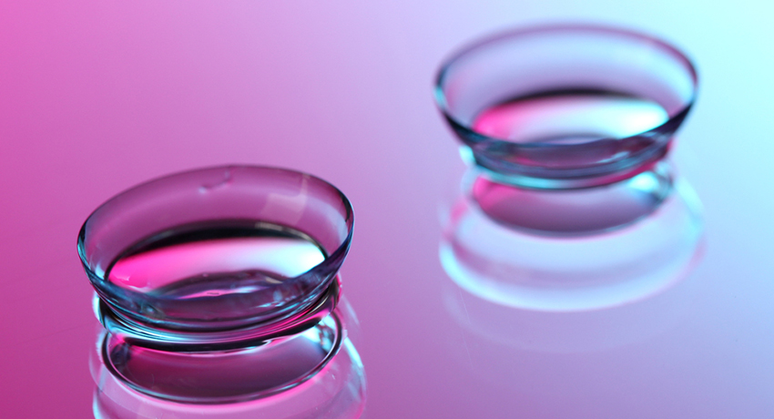 Contact lenses image via shutterstock