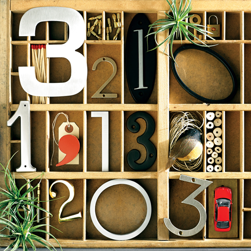 a great address 10 perfect decorative house numbers - Decorative House Numbers