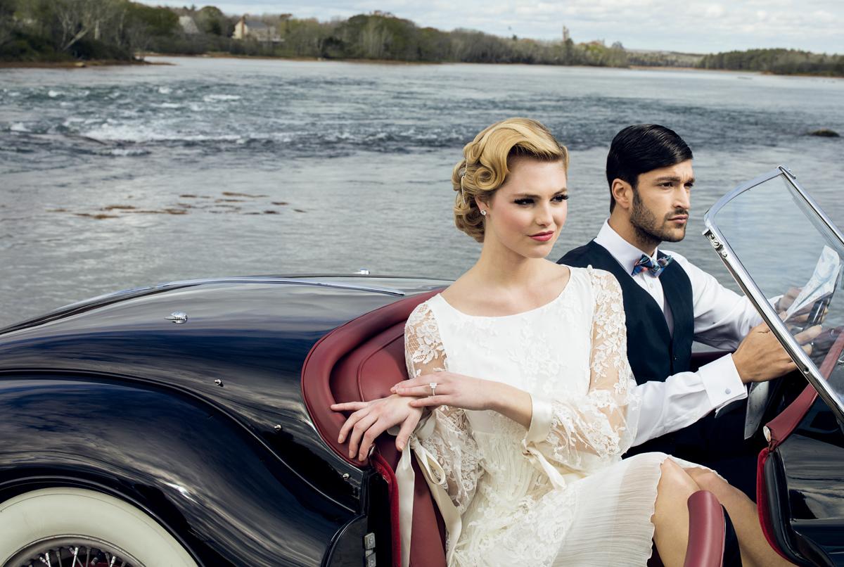 modern meets vintage wedding dresses
