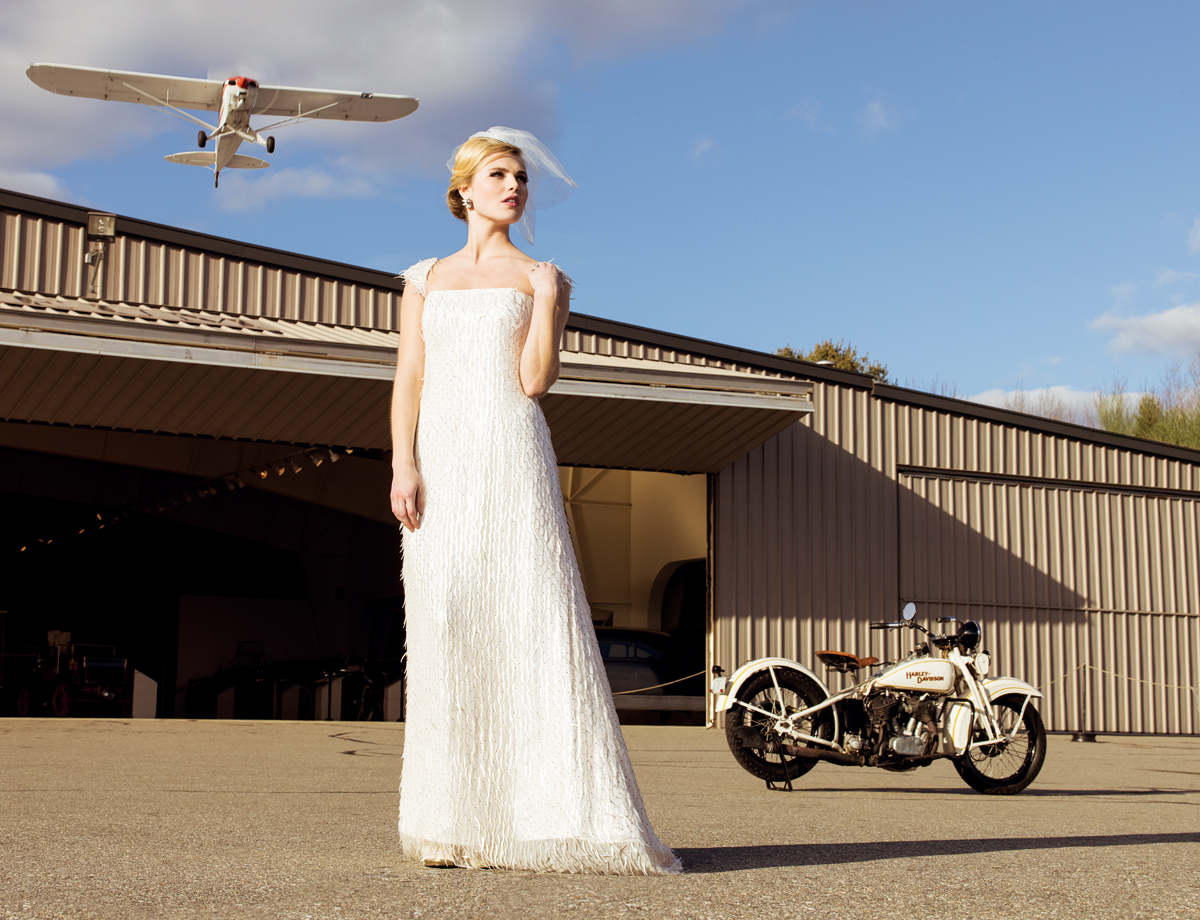 modern meets vintage wedding dresses