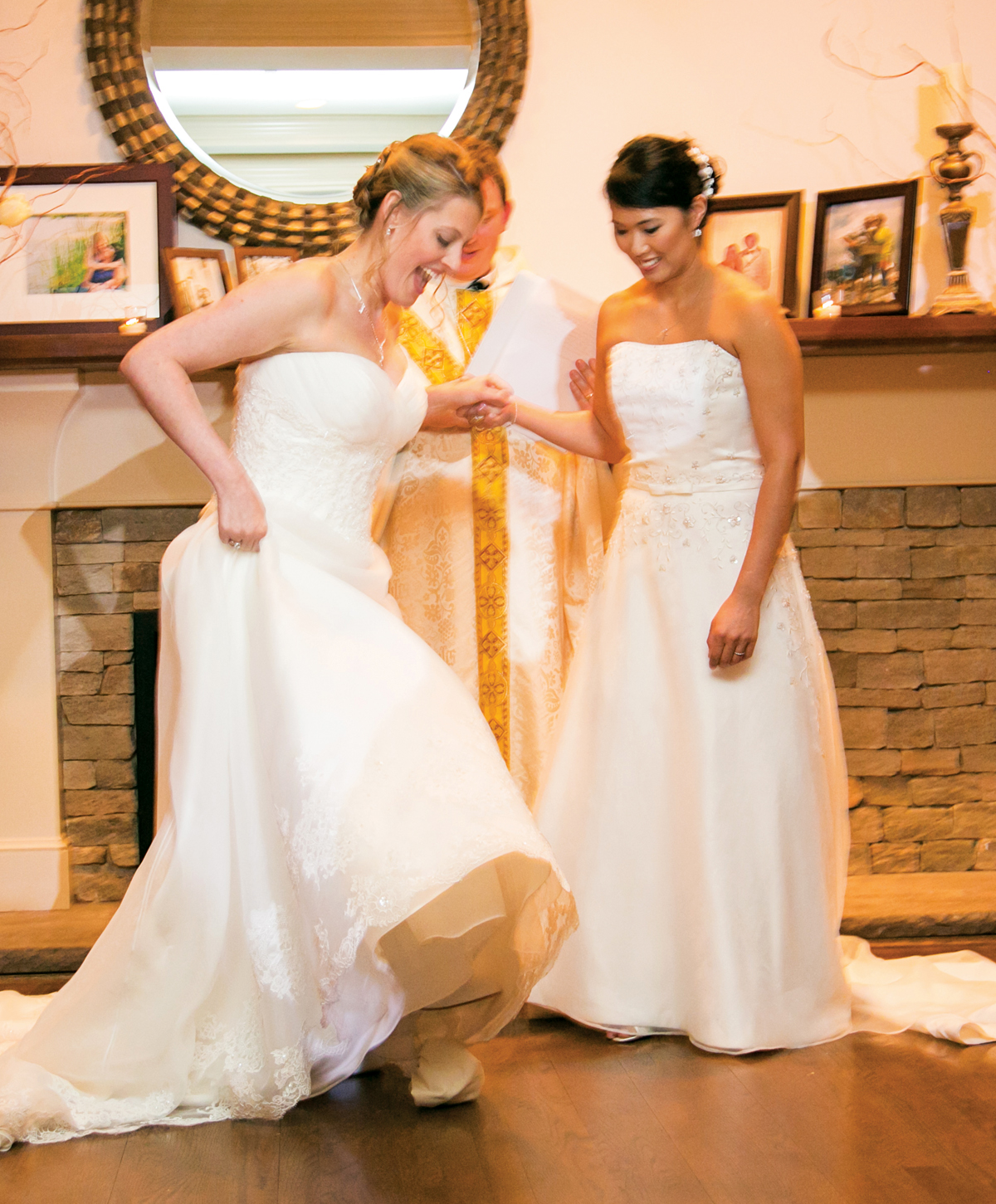 Robin Grace and Lucia Page wedding