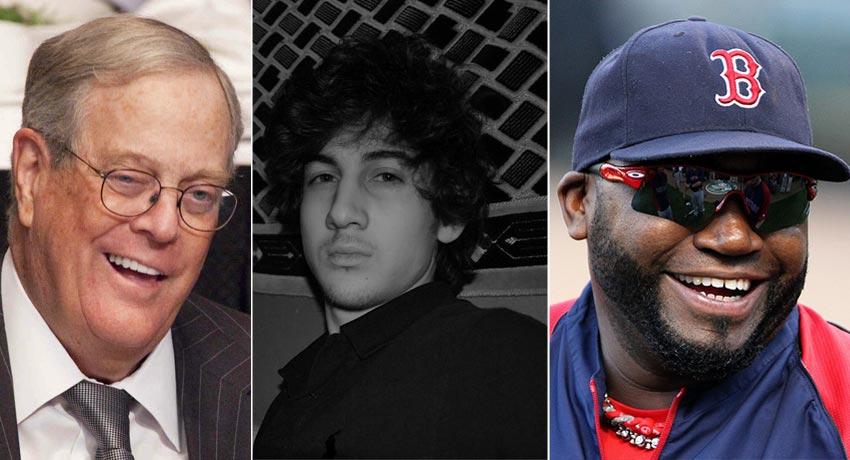 Koch, Tsarnaev, and Ortiz