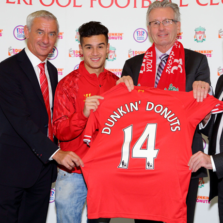 DUNKIN' BRANDS GROUP, INC. LIVERPOOL FOOTBALL CLUB