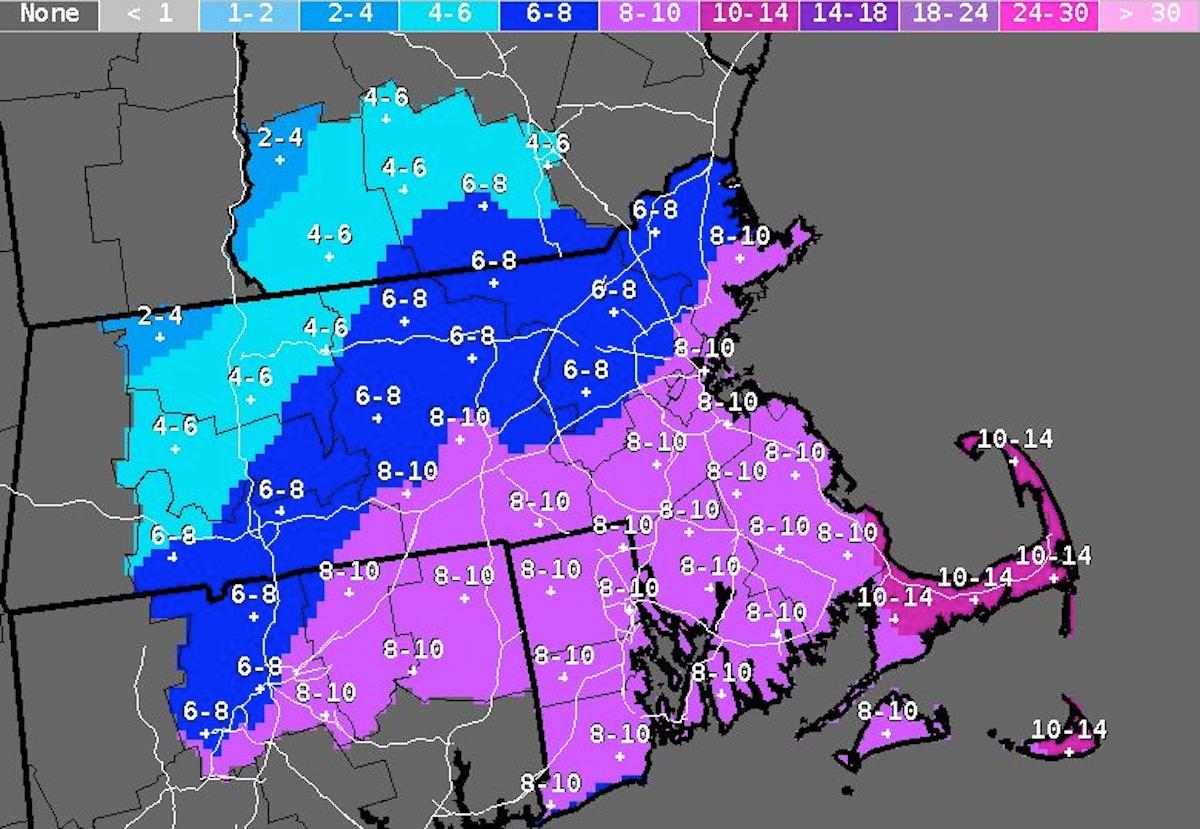 Photo Via National weather Service