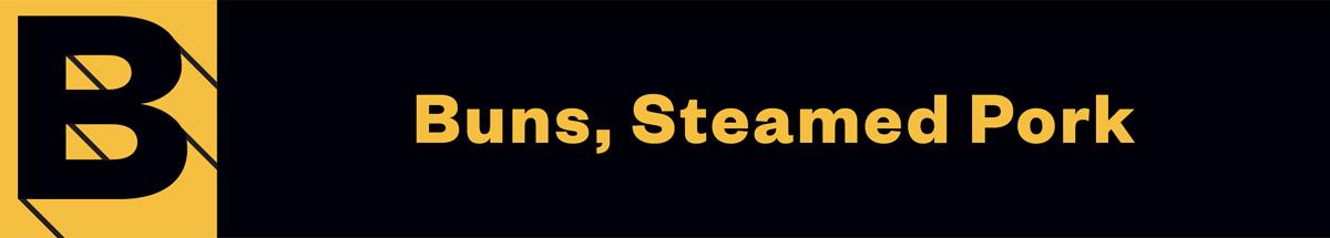 Buns-Steamed-Pork