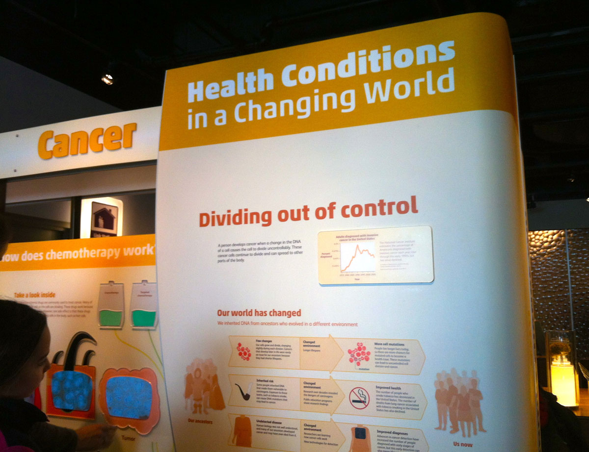 Cancer Station at Hall of Human Life