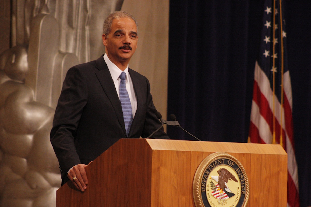 Eric Holder Photo Uploaded by ryanjreilly on Flickr